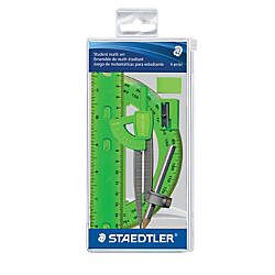 Staedtler 6 Piece Math Set Neon