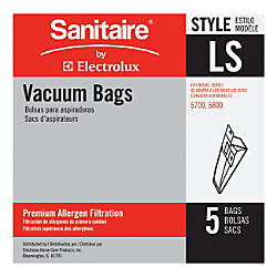 Eureka Sanitaire Disposable Dust Bags For
