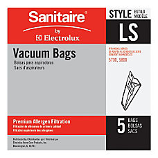 Eureka Sanitaire Disposable Dust Bags For