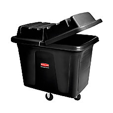 Rubbermaid Commercial Cube Truck Black 16