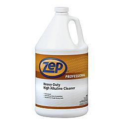 Zep Professional Heavy Duty High Alkaline Cleaner 1 Gallon ...
