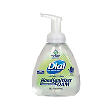 Dial Antibacterial Foaming Hand Sanitizer No