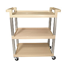 Rubbermaid Commercial 3 Shelf Service Cart