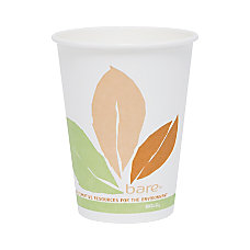 Solo Bare Compostable Hot Cups 12