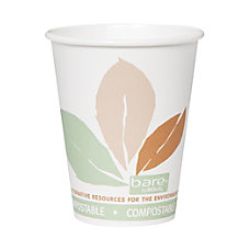 Solo Bare Compostable Hot Cups 8