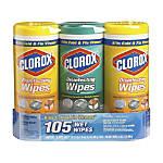 Clorox Disinfecting Wipes LemonFresh Scents 35