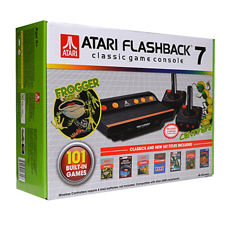 At games atari flashback 7 classic game console white by - Atari flashback 3 classic game console ...