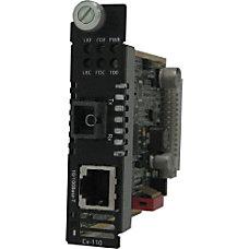 Perle CM 110 S1SC20D Fast Ethernet