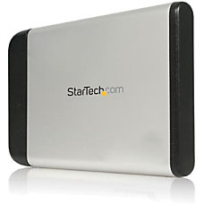 Startechcom 25in Silver USB External Hard