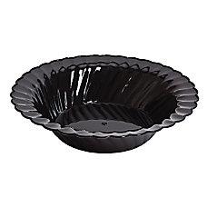 Classicware Bowls Plastic 10 oz Black