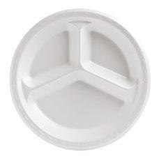 Genpak Celebrity 3 Compartment Plates 10