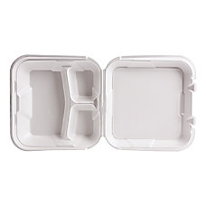 Genpak Snap It Foam Hinged Container