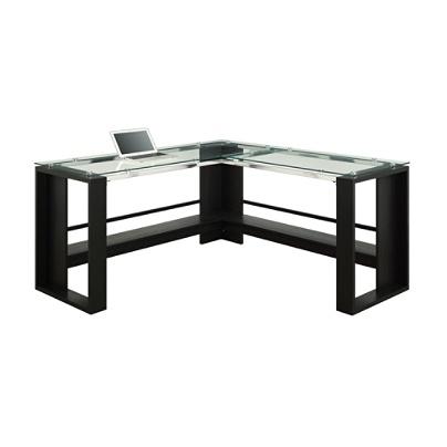 Whalen Jasper L Desk Espresso by Office Depot & OfficeMax