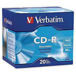 Verbatim CD R 700MB 52X with