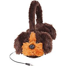 ReTrak Retractable Animalz Dog Headphones