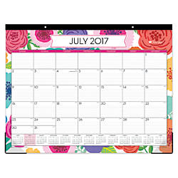 calendars, 2017-2018 at office depot