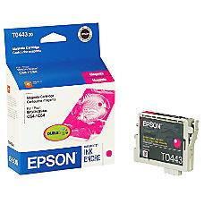 Epson T0443 T044320 DuraBrite Magenta Ink