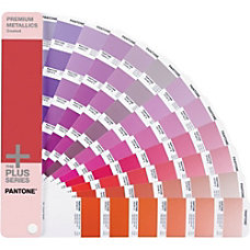 Pantone PREMIUM METALLICS Coated Reference Printed