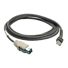 Zebra Straight Power Plus USB Cable