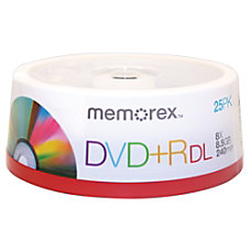 Memorex DVDR Double Layer Recordable Media