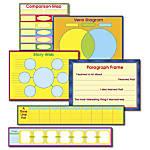 Carson Dellosa Graphic Organizer Bulletin Board