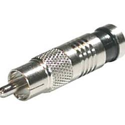 C2G RG59 Compression RCA Connector 50pk