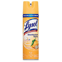 Lysol Citrus Disinfectant Spray Aerosol 015