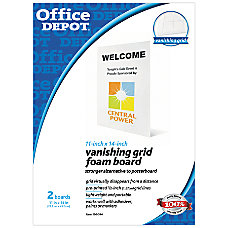 Office Depot Brand Vanishing Grid Presentation