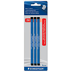 Staedtler Lumograph 2H Carbon Drawing Leads