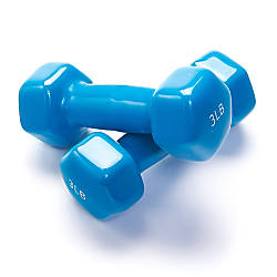 Black Mountain Products Vinyl Dumbbell Set