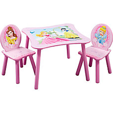 Disney Table Chair Set Princess