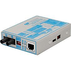 FlexPoint T1E1 Fiber Media Converter RJ48