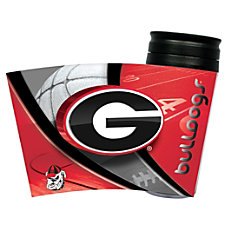 Hunter NCAA Insulated Travel Tumbler Georgia