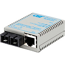 miConverterS 101001000 Gigabit Ethernet Fiber Media