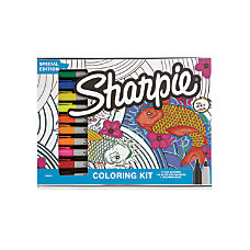 Sharpie Aquatic Coloring Kit Markers Ultra