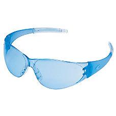 CHECKMATE SAFETY GLASSESLTBLUE TEMPLE LT BLUE
