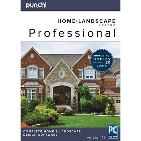 Punch professional v19 for pc download version by office for Punch home landscape design professional v19 review