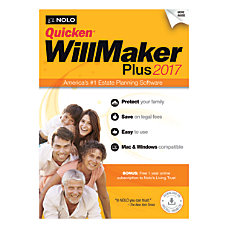 Quicken WillMaker Plus 2017 Download VersionTraditional