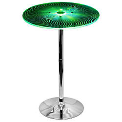 Lumisource Spyra Color Changing Bar Table