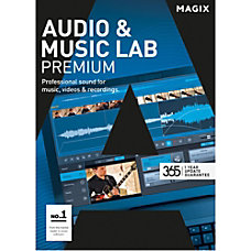 MAGIX Audio Music Lab Premium Download