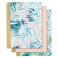 Divoga Composition Notebook Tropical Palm Collection