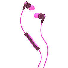 Skullcandy Method Earbud Headphones PlumPink