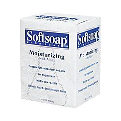 Softsoap Moisturizing Soap with Aloe Unscented