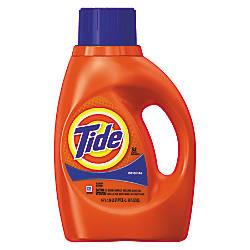 Ultra Liquid Tide Laundry Detergent 50