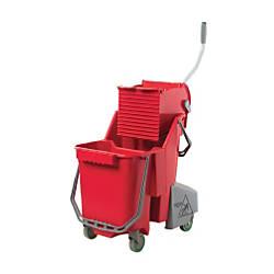Unger Side Press Restroom Mop Bucket