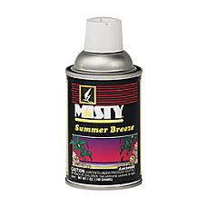 AmrepMisty Metered Dry Deodorizer Refills Summer