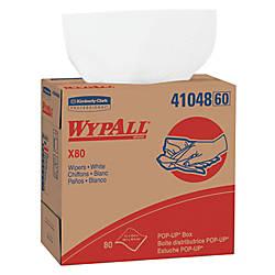 KIMBERLY CLARK WYPALL X80 Wipers 9