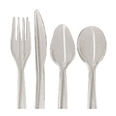 Dispoz o Enviroware Heavyweight Forks Natural
