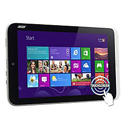 "Acer® ICONIA W3-810 8.1"" Windows 8 Tablet, 32GB"
