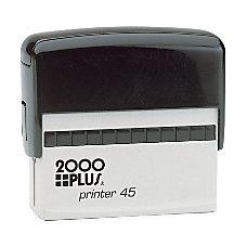 2000 PLUS Self Inking Signature Stamp